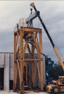 Built Winch Test Tower