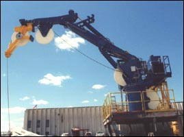 Array Towing Crane